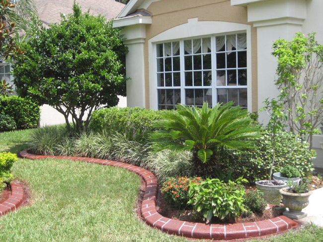 Landscaping Bricks : Orlando kwik kerb concrete curbing and landscape edging in