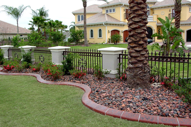 Now, With The Use Of Continuous Concrete Curbing, Beautifully Manicured  Landscapes With Attractive And Permanent Landscape Borders Can Be Seen In  ...